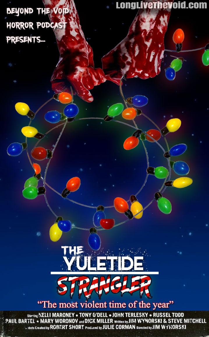 "Cover for ""The Yuletide Strangler"" by Alex King"