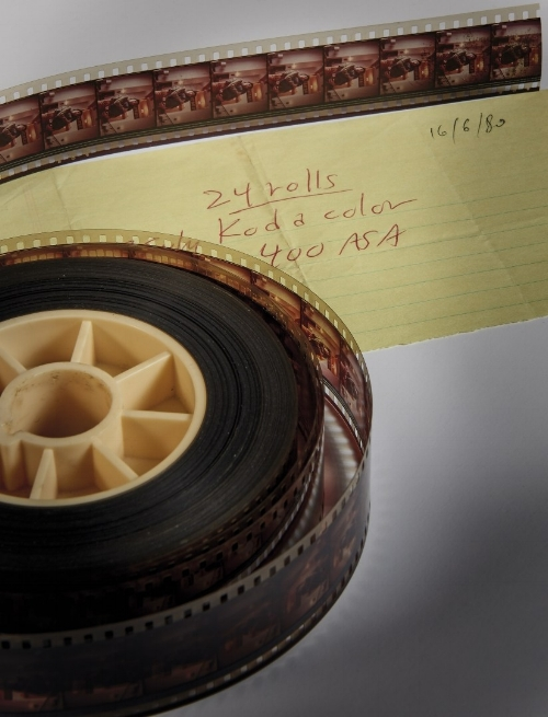 Actual photo of the extra film up for auction
