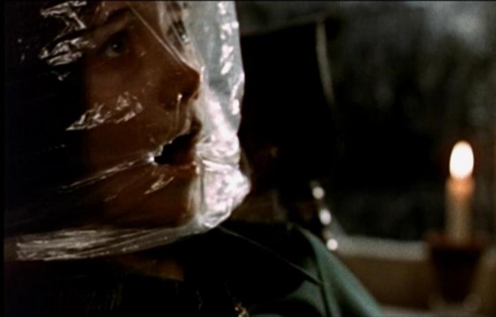 "Scene from ""Black Christmas"""