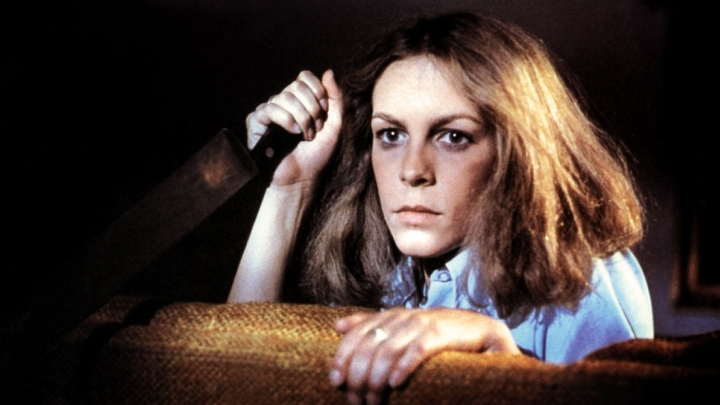 Jamie Lee Curtis (Laurie Strode) in Halloween