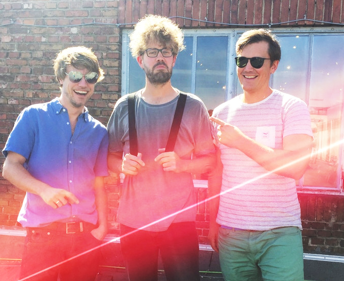 Lukas (in the middle), Co Makers of Laserpope