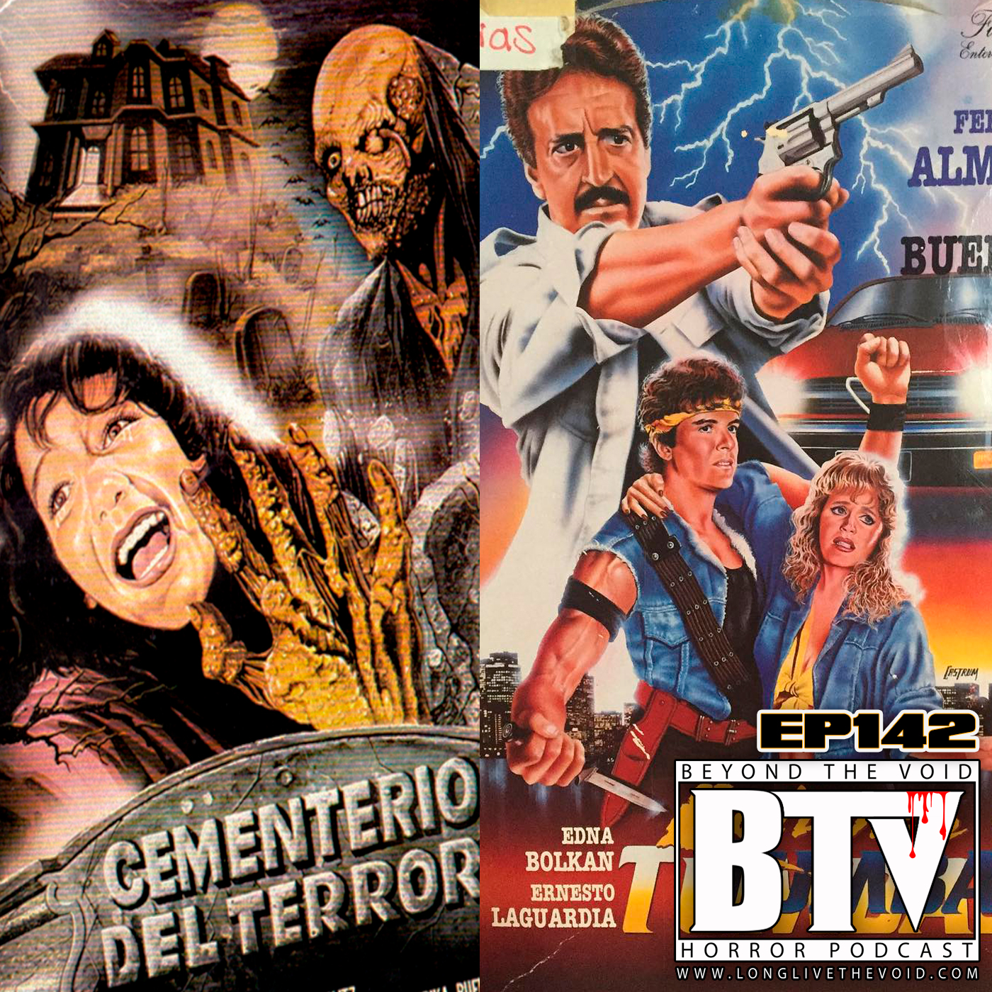 Ep142 Mexican Slashers w/ Terrible Terror Podcast