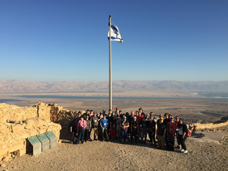 CRW Atzmayim Birthright 2014.GroupMasada
