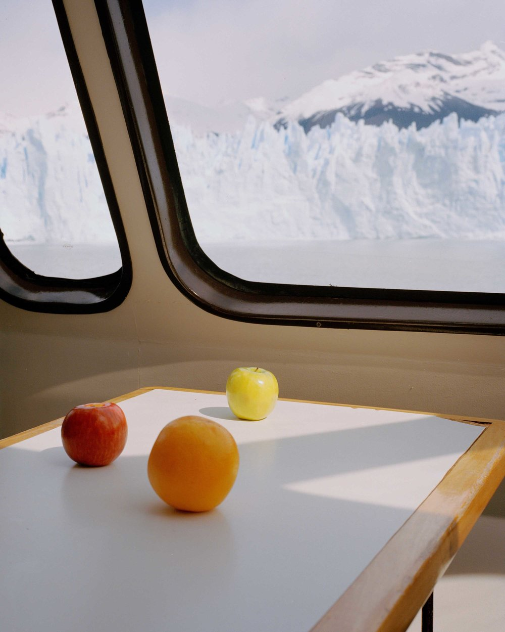 "Three Fruits and a Glacier - 2018  | 32""x40"" 