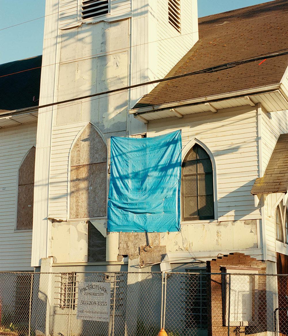 "Allen Street Church  | 24""x28"" | 36""x42"""