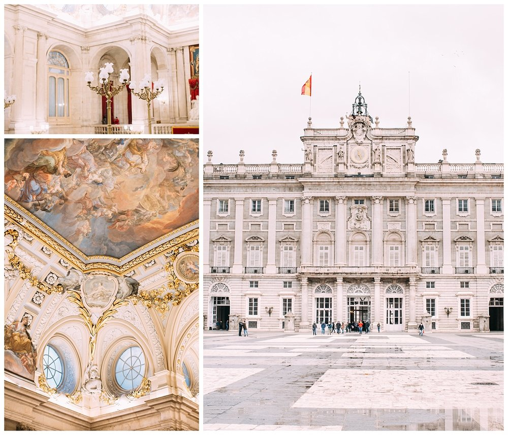 This is the Royal Palace. Pictures don't do justice you guys, this place is beautiful and massive! If you're ever in Madrid you HAVE to see it. Usually the lines are hours of wait and out the doors. Since the weather was bad and it was raining we got lucky and only waited about 25 minutes...but outside in the rain, so felt like hours lol. Wish I could show you guys more pictures but unfortunately, you cannot take photos inside. It was just breathtaking, seriously.