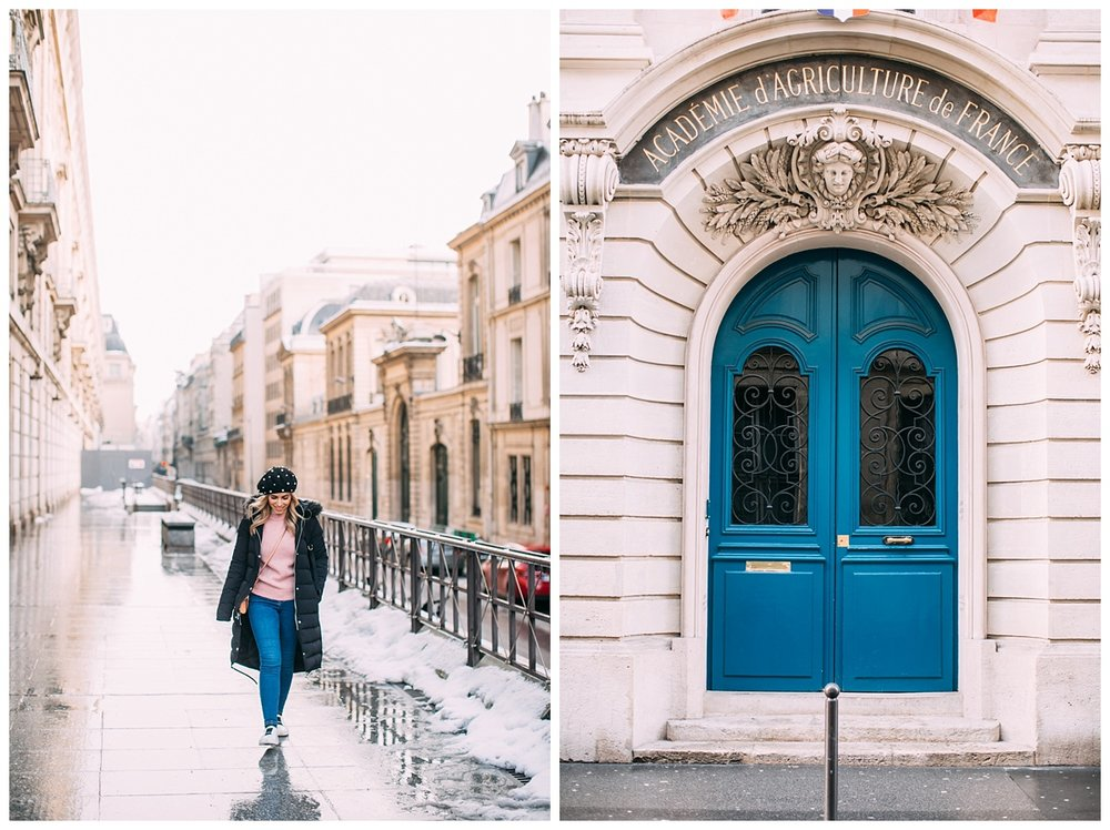 Doors in Paris are so extra! So many colorful doors everywhere.