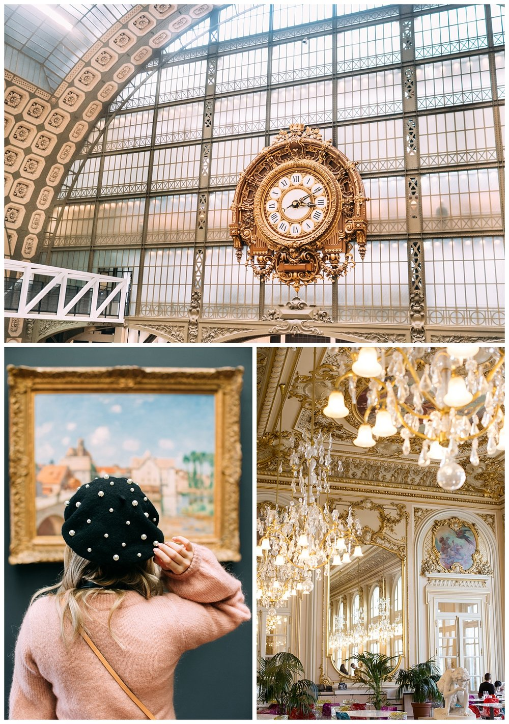 This is Musée d'Orsay. Another museum with beautiful artwork. Check out this extravagant café that was inside. I'm telling you Paris is everything you can dream of.