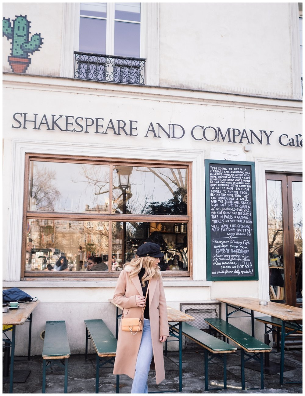 Also visited the Shakespeare Café and book store. It was so cute...felt like I was in a movie.