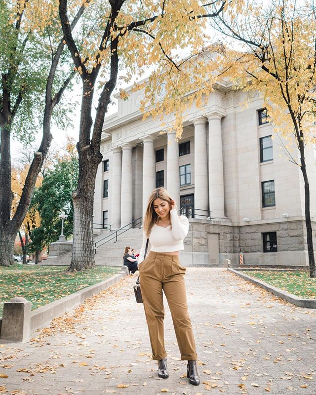 Stepping into fall like... 🍂 #f21xme