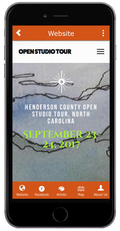Get The TOUR App Open Studio Tour