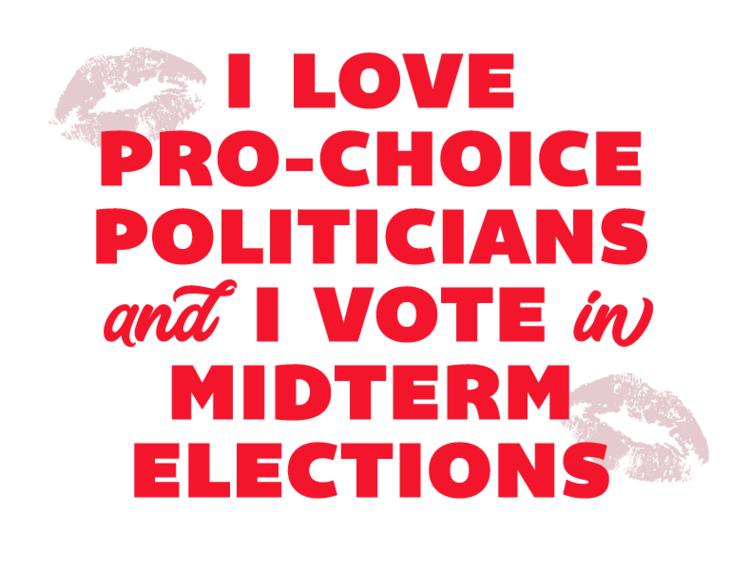 I Love Pro-choice Politicians / download