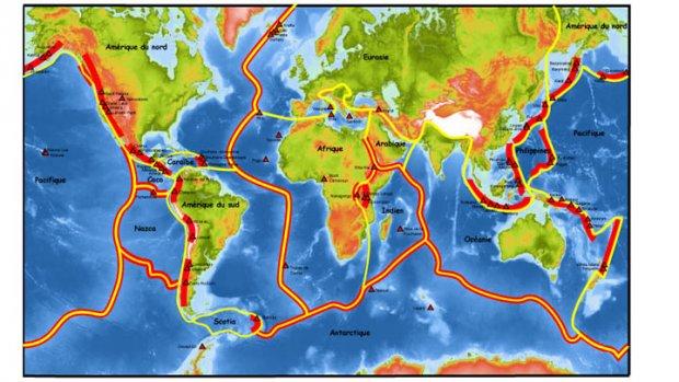 Failles sismiques