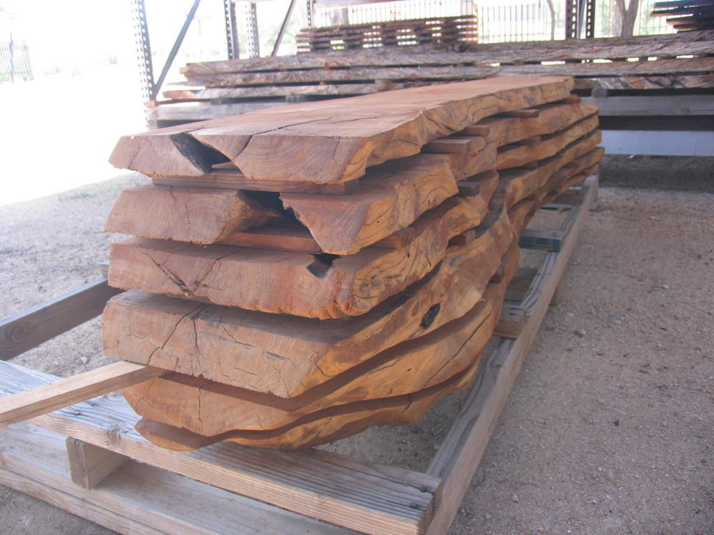 Great Lumber Selection (and more...)! - Book-matched slabs, cross cut rounds, mantel pieces, posts, stump bases, remnants.