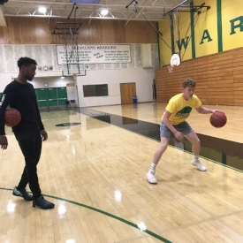 Individual Lessons(3rd-HS) - CHS's Varsity Boys Basketball Coach, Dondrale Campbell, offers 1-on-1 sessions to athletes of all ages in the off-season. This includes Fall, Spring, & part of Summer.Current Season: SpringAvailability: Upon RequestEmail- info@cleveland-warriors.comCost: $60 per sessionCoach currently has a set group of players (youth, high school, & collegiate levels) that he works with regularly at various locations throughout the state. Check directly with him to see about getting on his schedule.Note: If you are a current CHS athlete looking for lessons to work on skills in Winter, Coach Campbell does not charge players in the high school program during season. There is no guarantee he will have any availability during Winter basketball however, so the off-season is the best time to get in sessions & work on your skills.