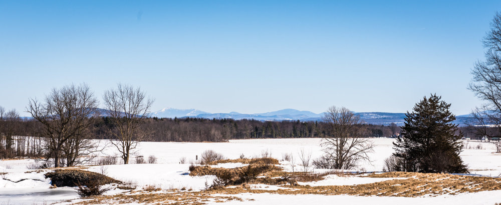 View to the Northeast of Vermont's Highest Peak - Mount Mansfield over 40 miles away!!