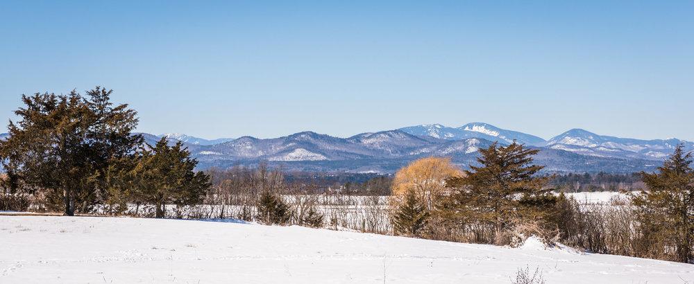 Western horizon - Adirondack High Peaks.