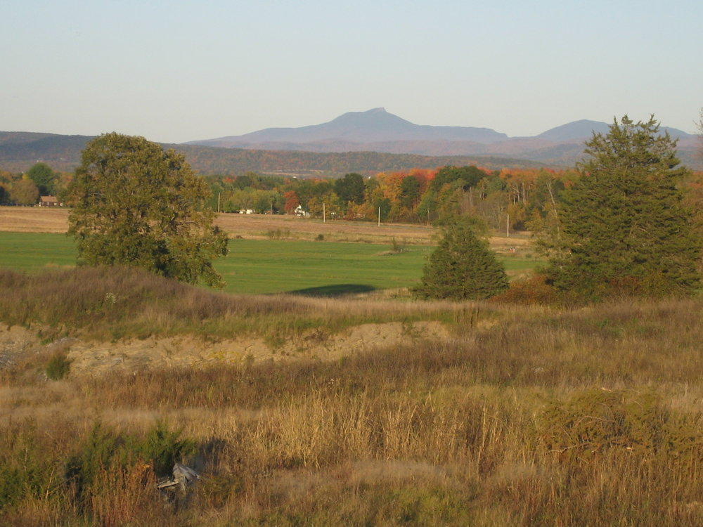 View of Camel's Hump in the Autum.