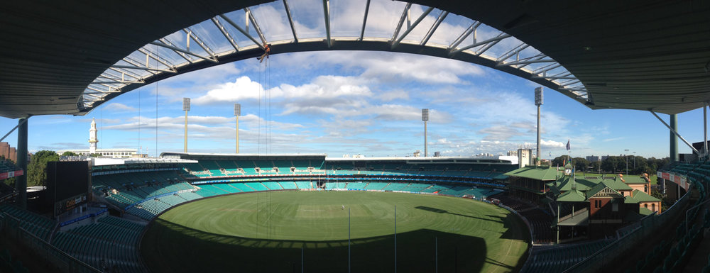 Specialty Rigging   at The Sydney Cricket Ground   See Project