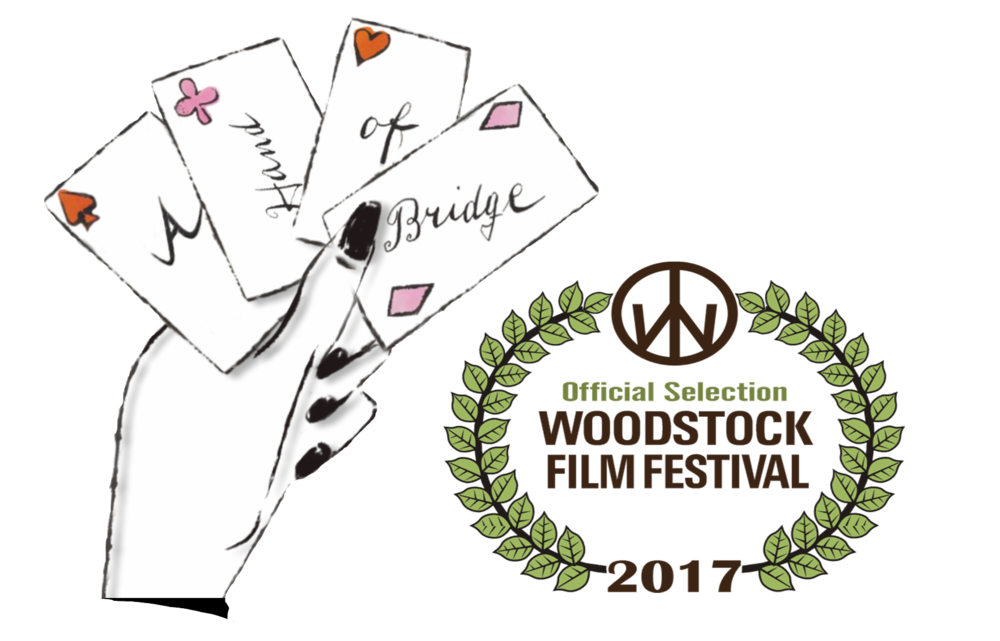 On october 11 A hand of bridge will have its USA east coast premiere at the renound Woodstock film festival.  it will be paired with the feature stuck, by Michael Berry.