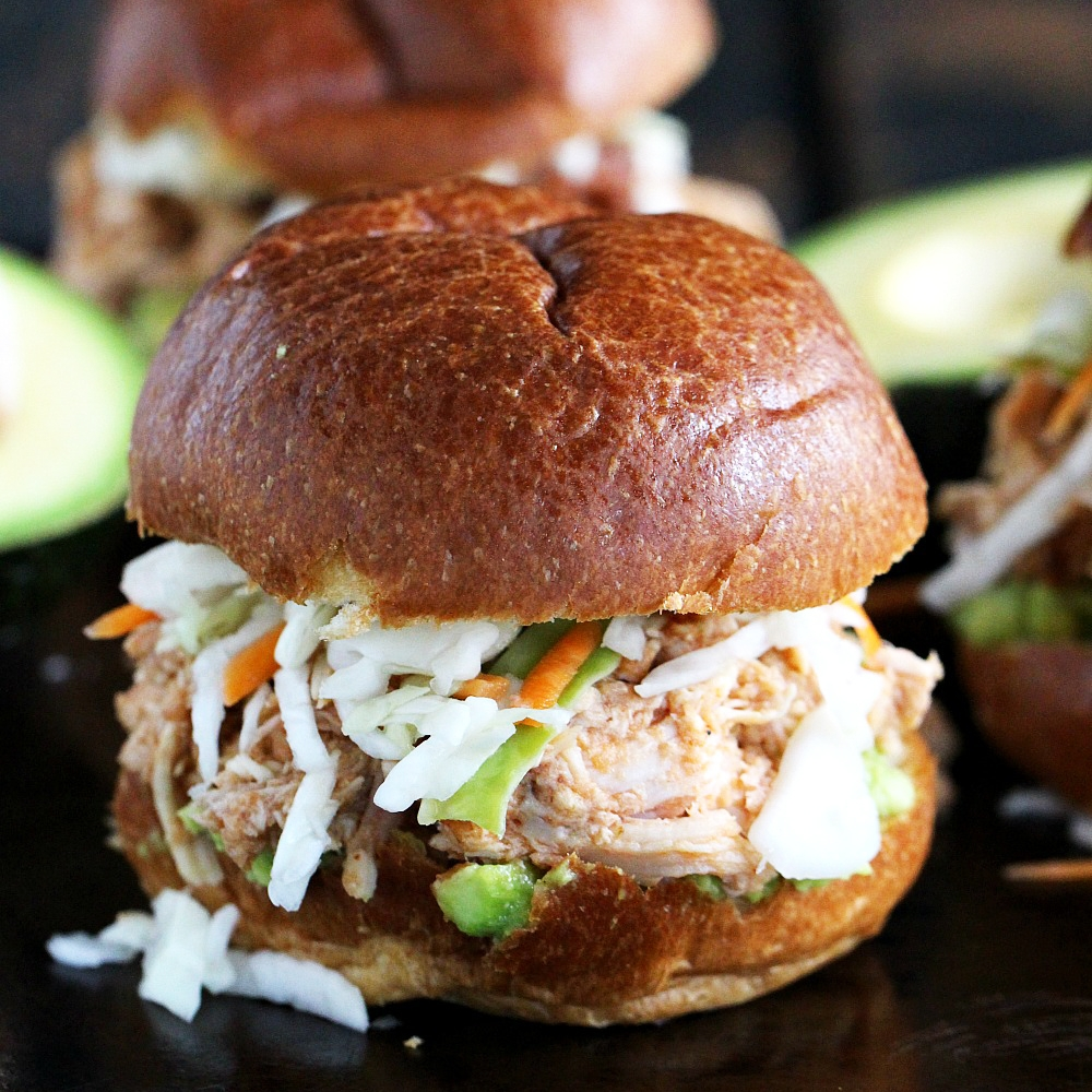Spicy Veracha Chicken Sliders