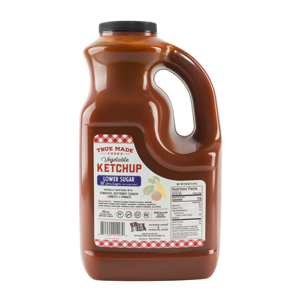 Low Sugar Ketchup - Gallon Jug