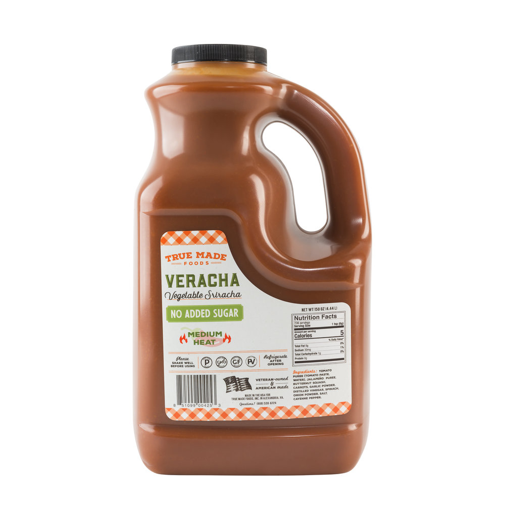Veracha - Vegetable Sriracha Gallon Jug