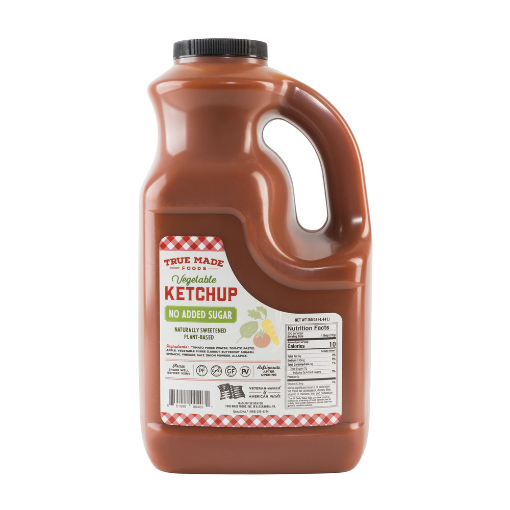 No Sugar Paleo Ketchup Gallon Jug