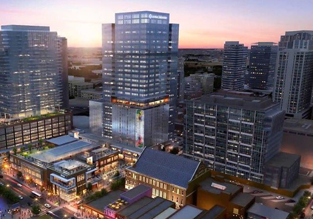 We are excited to begin on a gorgeous mixed-use project, Fifth + Broadway in #Nashville #fifthandb  More info: fifthandb.com (link in bio)