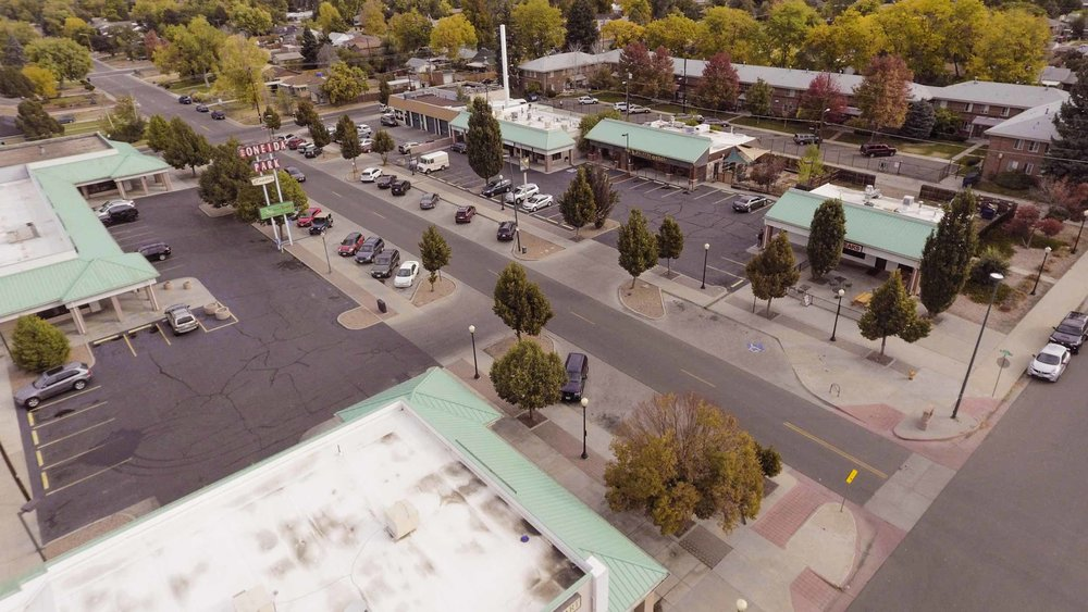 Oneida Park Street and Buildings