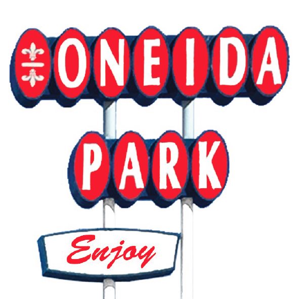 Oneida Park Enjoy Sign