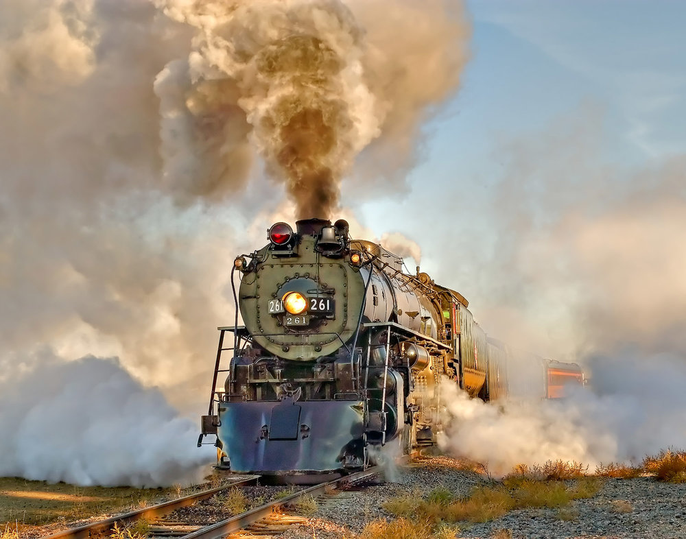Steam Locomotives: