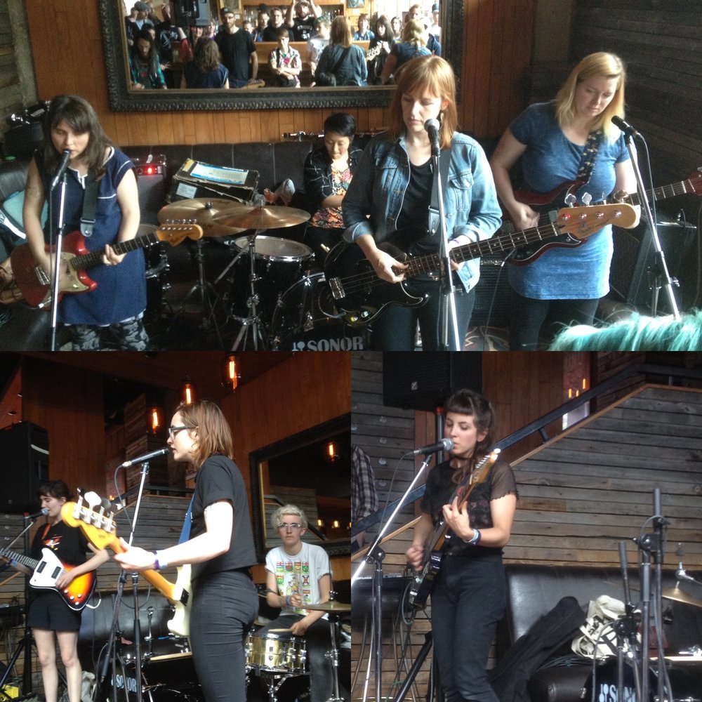 Not You (Top), Lonely Parade (Bottom Left), Ada Lea (Bottom Right)