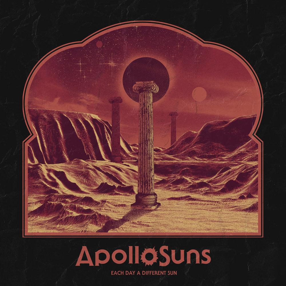 4. Apollo Suns  - Each Day A Different Sun (Winnipeg)