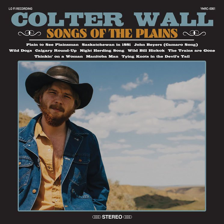 Colter Wall - Songs Of The Plains  Artwork by Connie Collingsworth