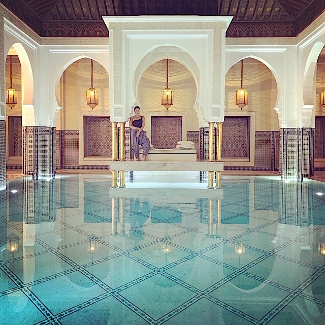 Spa Pool - La Mamounia