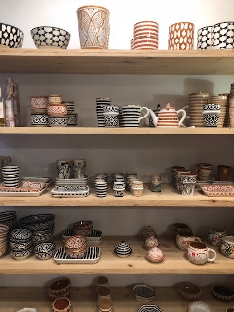 Pottery at Chabi Chic