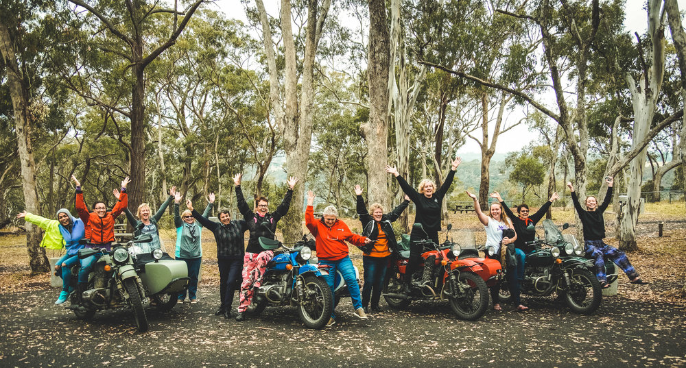 Owners from this year's Annual Australia Adventure Ride!