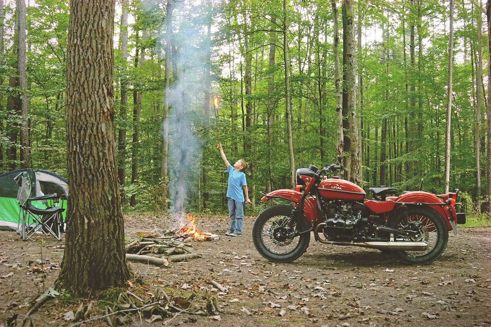 Ural Motorcycles cT camping goodsparkgarage