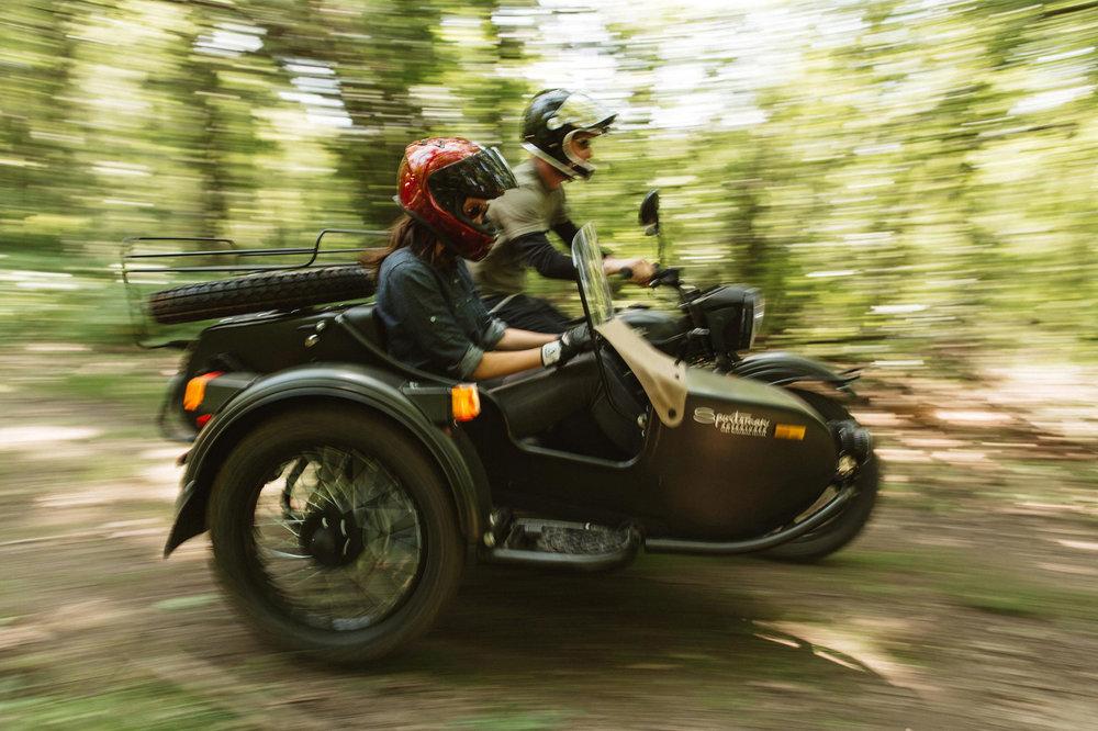 Ural Sportsman Sidecar Motorcycle