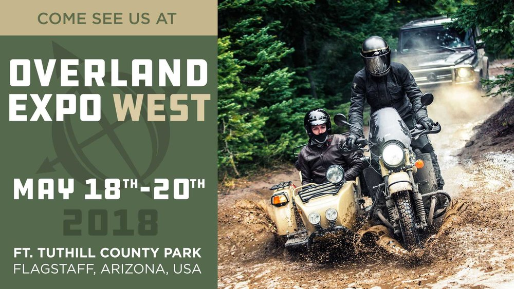 Ural at Overland Expo West 2018
