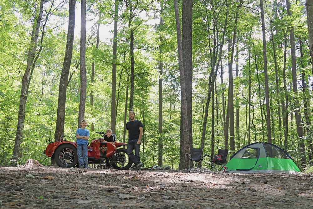 Good Spark Garage Camping with Ural cT