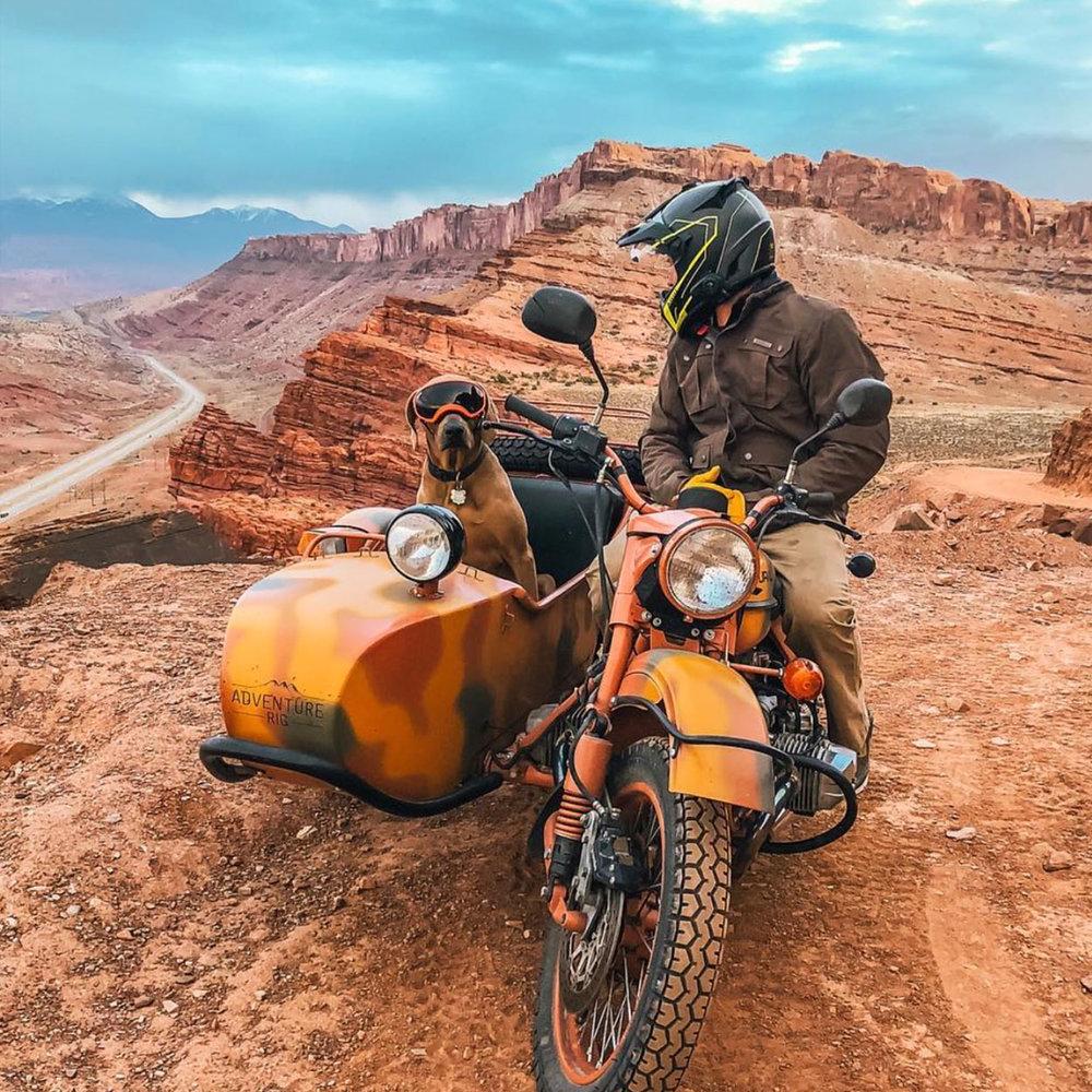 Incredible pic by  @adventurerig  in Moab, Utah.