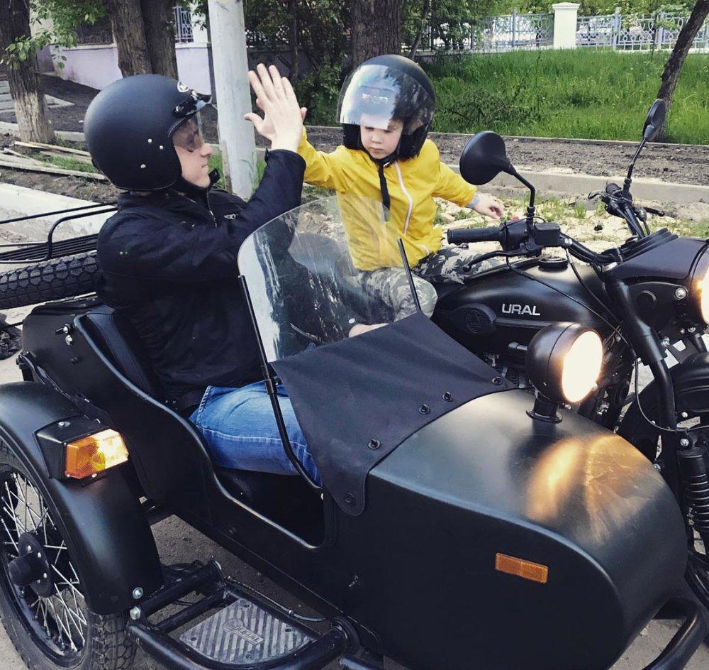 Kids Love Ural Sidecar Motorcycles