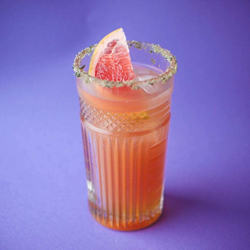 Paloma Enxilada   - 1 1⁄4 oz de tequila blanco - 2 oz de Xila - 3⁄4 de Sour Mix - Rellenar con jugo de toronja - Escarchado de sal - Rodaja de toronja para decorar