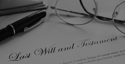Wills & Estates - Find out more