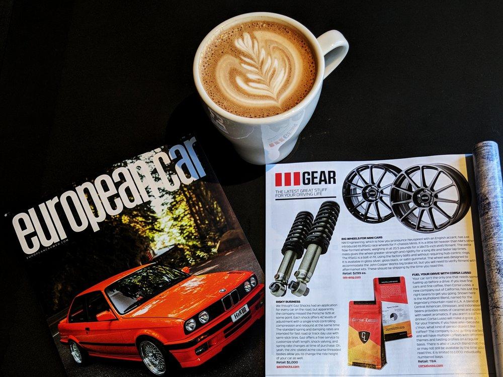 European Car Magazine Featured Gear November 2017