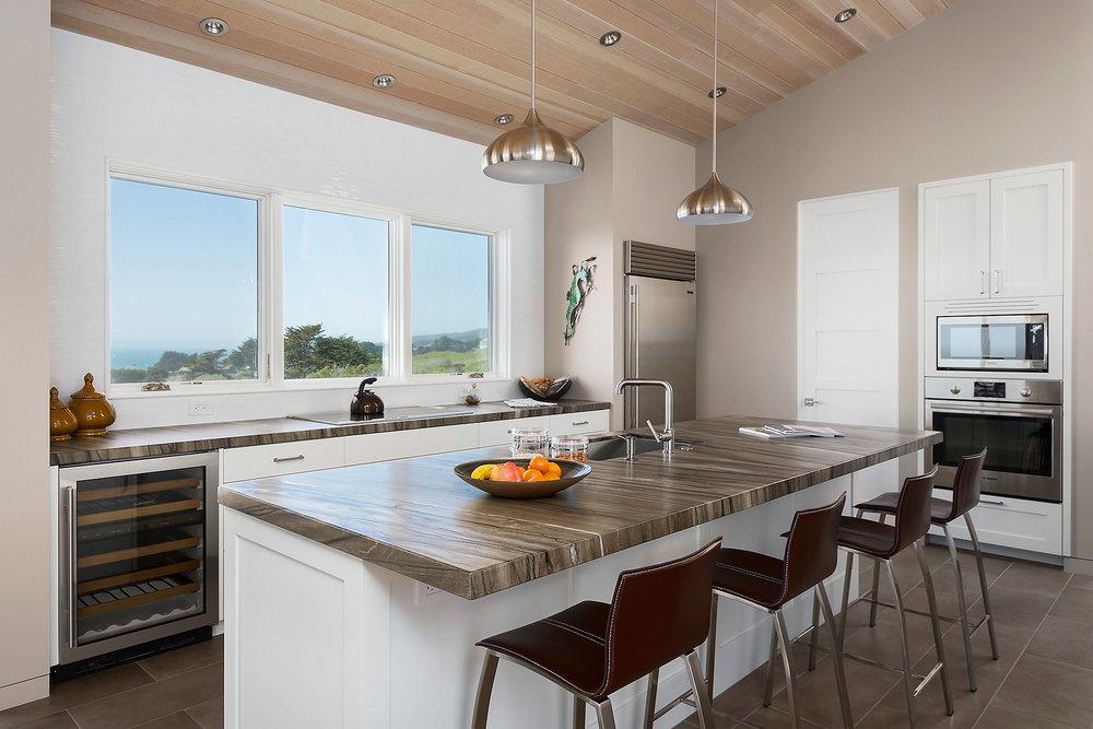 Kitchen with Sub-Zero/Bosch/Wolf Appliances