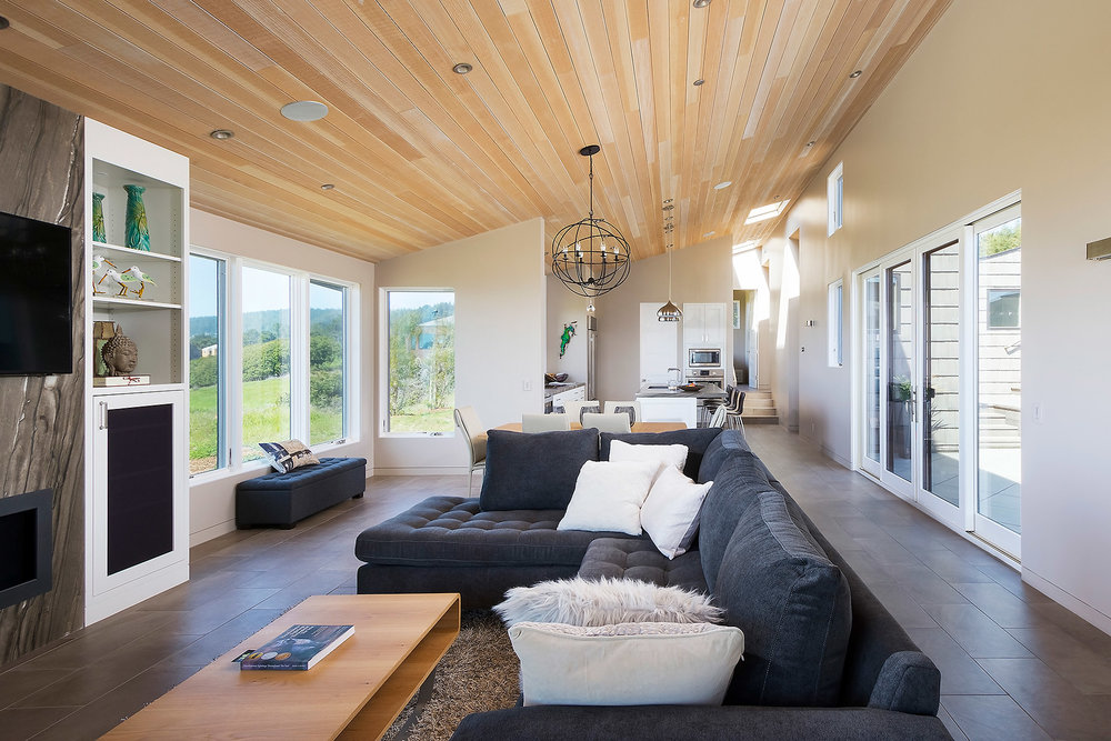 Expansive Great Room with Living and Dining Spaces