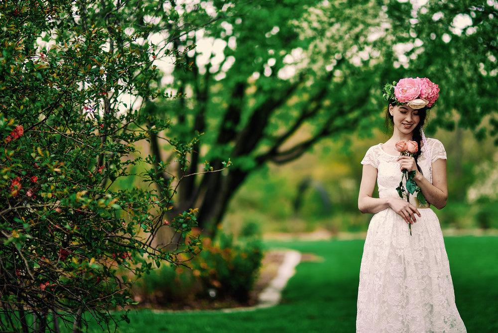Springtime Wedding Inspiration - BRIDAL FASHION PHOTOGRAPHY